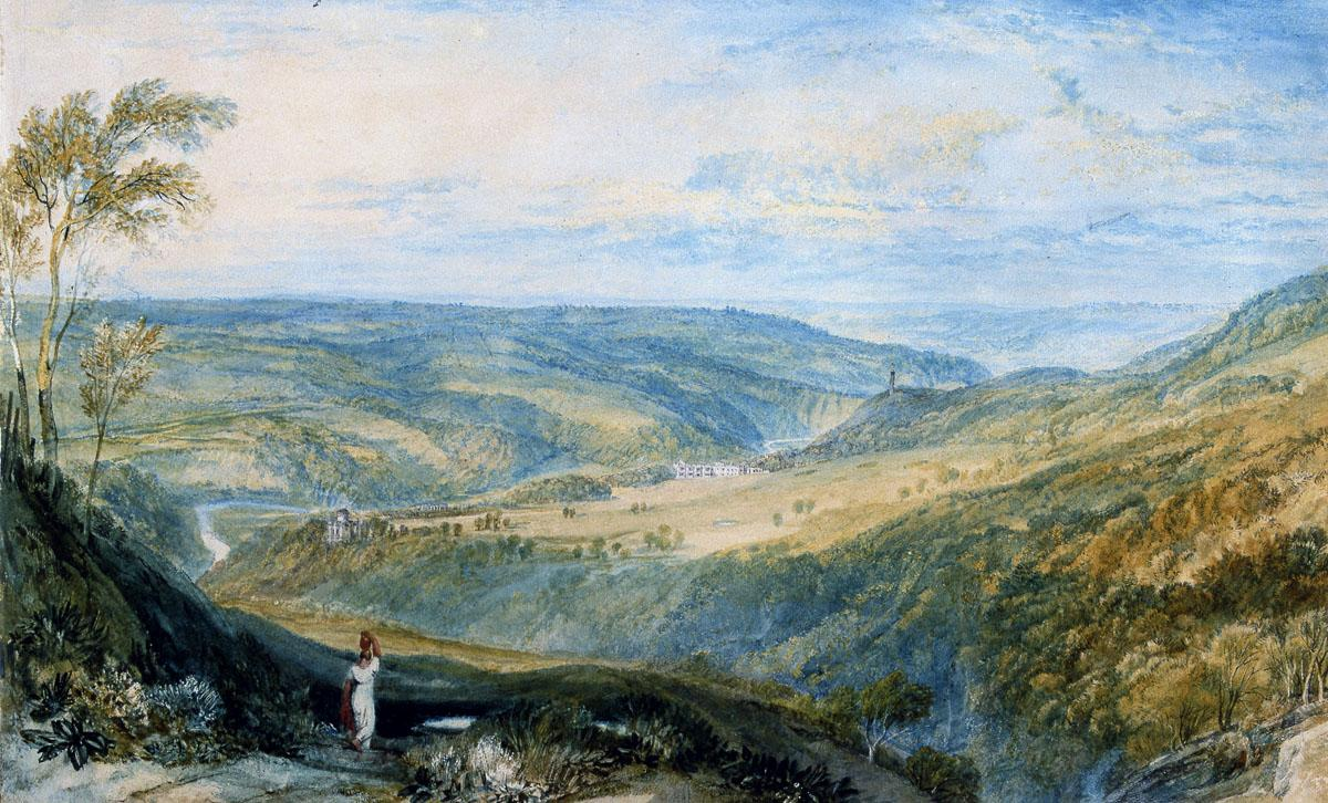 Gibside watercolours, Turner